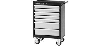 "ROLLER CABINET FOR TOOLS 7 DRAWERS 26-1/2"" x 18"" x 39-1/8"""