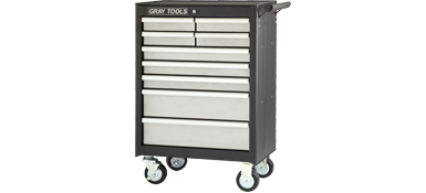 "ROLLER CABINET FOR TOOLS 7 DRAWERS 26-1/2"" x 18"" X 19-1/8"""